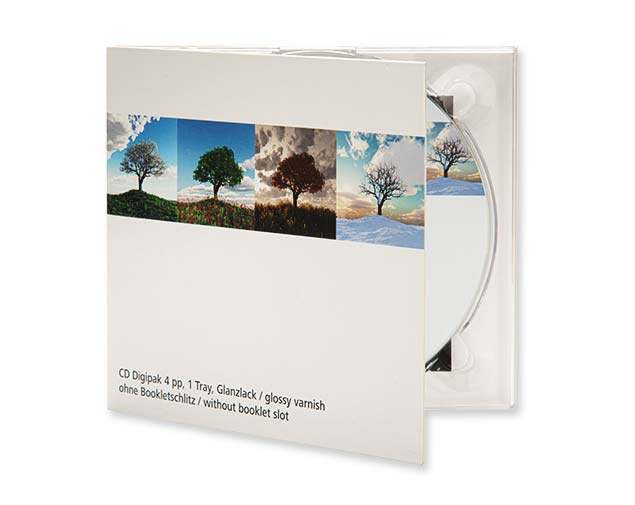 Digifile / Digisleeve in CD and DVD format